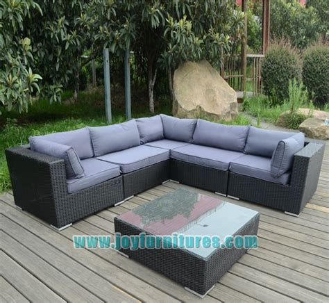 l shaped sofa sets new rattan wicker weave garden