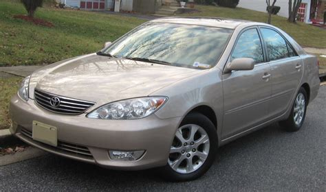 2005 Toyota Camry Le Reviews 2005 Toyota Camry Le Xle Reviews