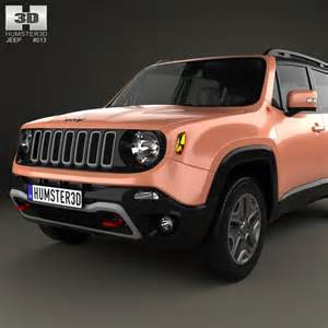 jeep renegade trailhawk 2015 3d model humster3d