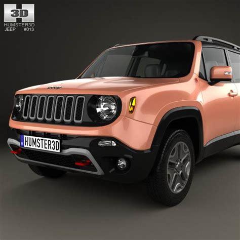 2015 jeep models jeep renegade trailhawk 2015 3d model humster3d