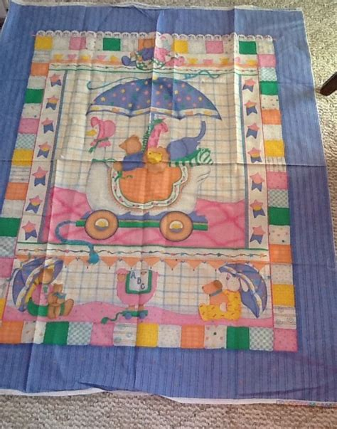 cranston goose fabric 100 cotton pastel nursery
