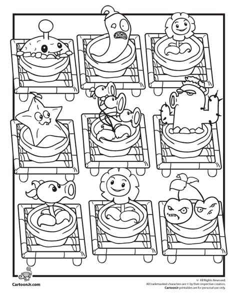 plants vs zombies coloring book for and books plants vs zombies coloring pages coloring home