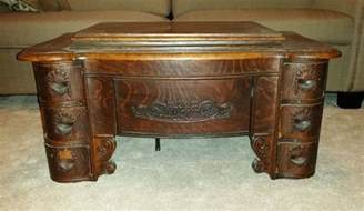 Treadle Sewing Machine Cabinet Antique White Sewing Machine Treadle Cabinet With 6 Drawer