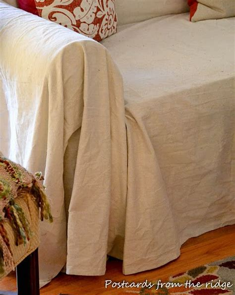 slipcovers from drop cloths painter s drop cloth used as a slipcover my work home