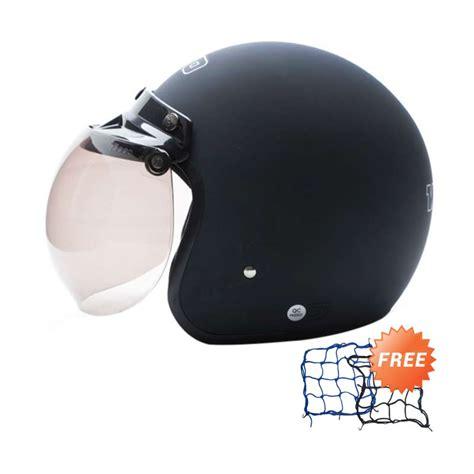 Helm Bogo Hitam Doff Jual Wto Helmet Retro Bogo Hitam Doff Helm Half Free Jaring Helm Harga
