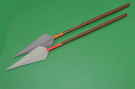 How To Make A Spear Out Of Paper - como hacer una lanza de papel paper spear