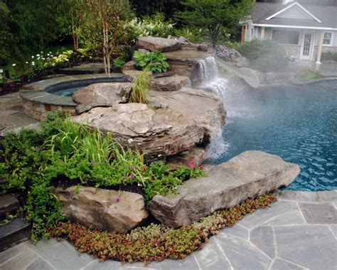 landscaping ideas with rocks bill house plans