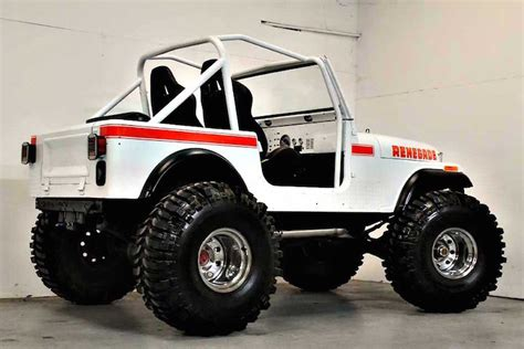 jeep cj this 1980 jeep cj7 renegade restomod is the business