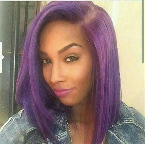 25+ trending purple bob ideas on pinterest   grey bob