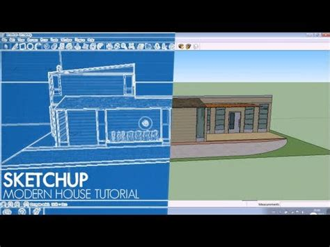 modern house tutorial google sketchup youtube sketchup tutorial how to design a modern house youtube