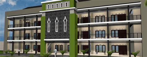 desain gedung kembar indonesia satu desain gedung sekolah modern bertaraf internasional mts