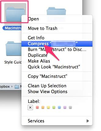 how to zip a file or make files into one file in macos