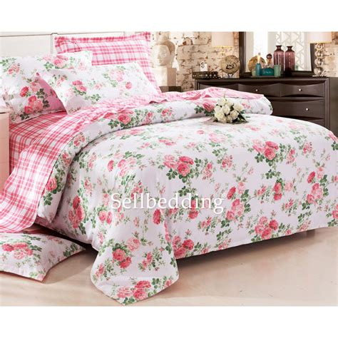 white and floral beautiful country unique comforter