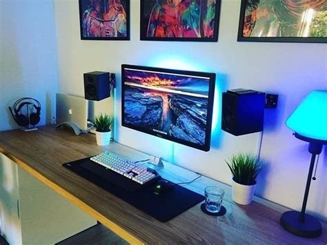 Gaming Setup Desk by Best 25 Gaming Setup Ideas On Computer Setup