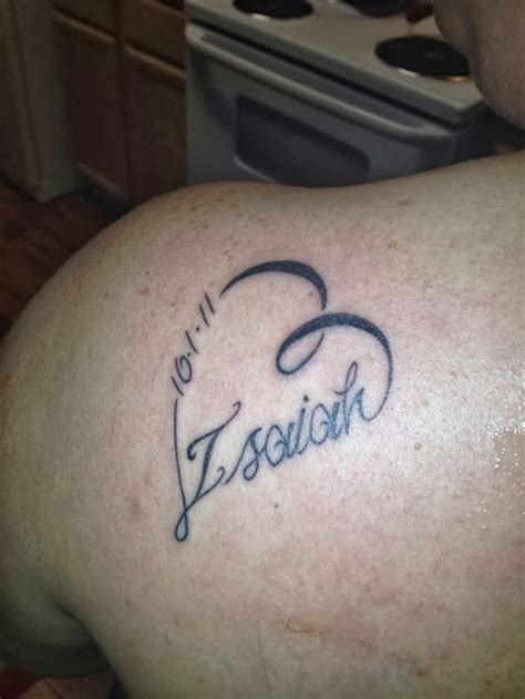 name tattoo with design in style name designs