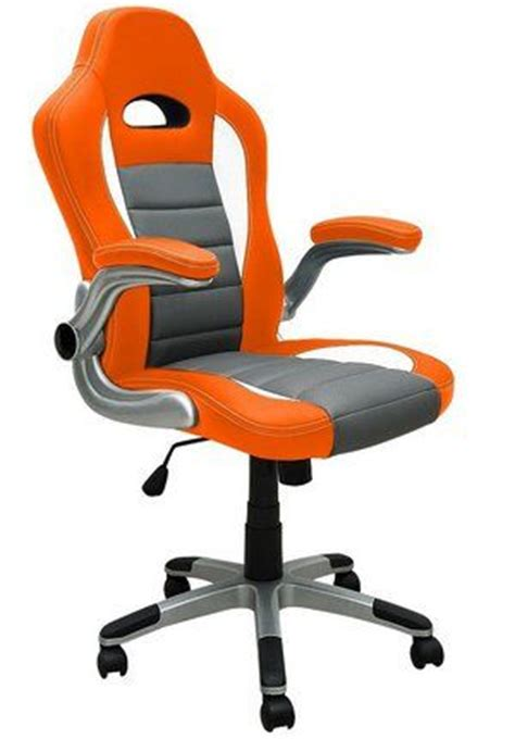 choose a beautiful bright orange office chair for your