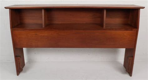 mid century modern bookcase headboard mid century modern queen size bookshelf headboard and