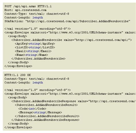 tutorial xml messaging with soap image gallery soap exle