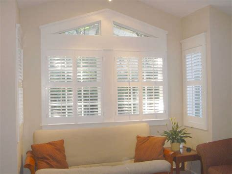 interior blinds shutters blue color for living room window