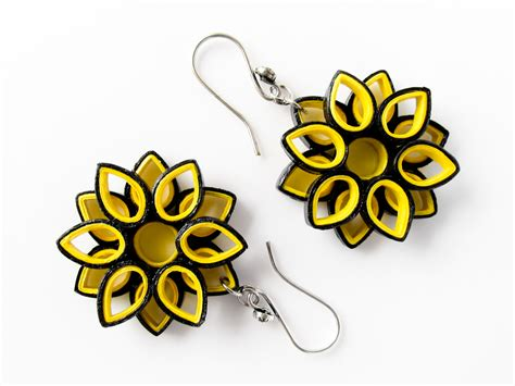 Paper Kammal - buy paper jewelry bumble bee inspired paper quilled