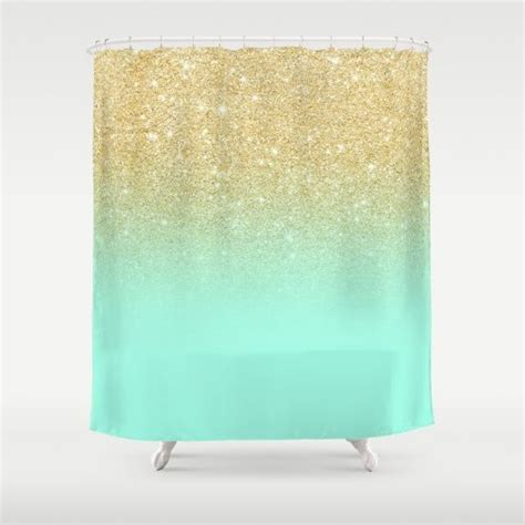 mint colored shower curtain 25 best ideas about mint curtains on pinterest bedroom