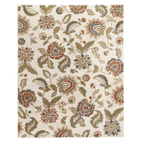 Home Decorators Collection Lucy Cream 8 Ft X 10 Ft Area 8 X 10 Ft Area Rugs