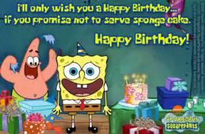 Spongebob Birthday Quotes List Of Most Funny Spongebob Quotes
