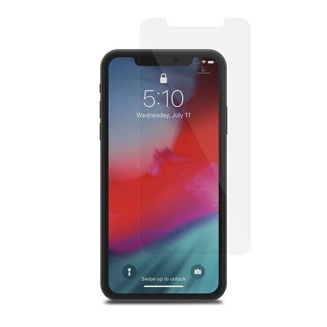 iphone xr glass screen protector airfoil glass  moshi