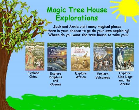 magic tree house author the magic tree house books