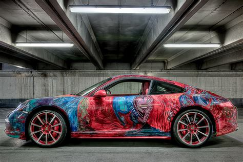 Wooden Decorations For Home by Porsche 911 Car Art