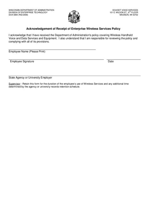 acknowledgement form template employee acknowledgement form template dillabaughs
