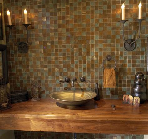 mexican bathroom ideas rustic mexican wood bathroom