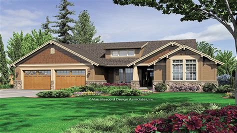 craftsman style house plans for ranch homes vintage