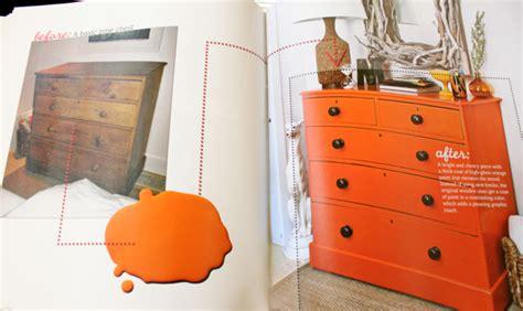 orange dresser decorchick