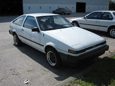1986 Toyota Corolla Gts Jdm Ae86 1986 Toyota Corolla Specs Photos Modification