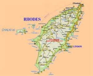 Rhodes Greece Map by Gallery For Gt Rhodes Map