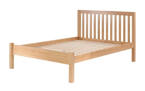 Pine Wood Bed Frames Silentnight Pine Wooden Bed Frame Mattress