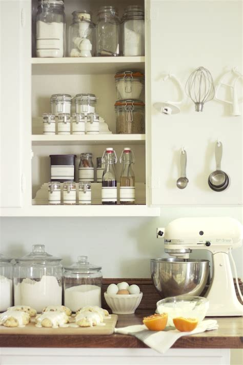 organized kitchen jenny steffens hobick baking pantry in a cabinet