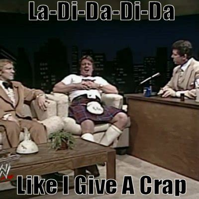 Roddy Piper Meme - rowdy roddy piper slaps lord alfred hayes hachland