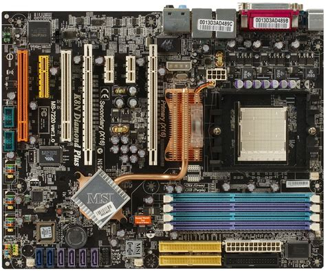 motherboard inductor noise msi k8n plus based on nvidia nforce4 sli x16 a motherboard with heat pipes and quot vacuum
