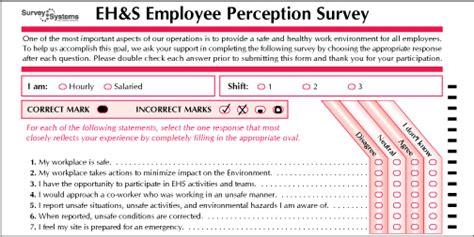 safety survey template emplopee survey