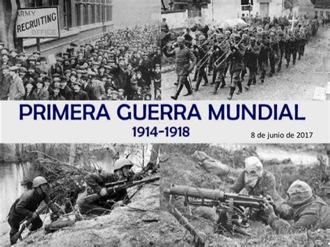 Resumen 1 Guerra Mundial primera guerra mundial resumen