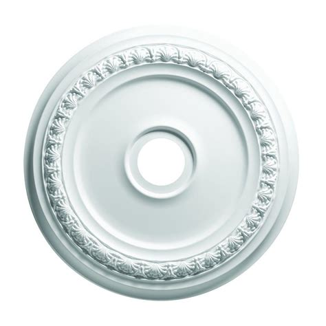 Focal Point Ceiling Medallions by Focal Point 24 In Shell And Bellflower Ceiling Medallion 83424 The Home Depot
