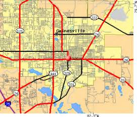 gainesville florida on map gainesville zip code map kelloggrealtyinc
