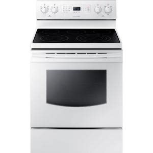 samsung 30 in. 5.9 cu. ft. electric range with self