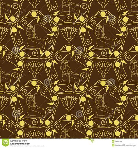 egyptian pattern texture egyptian seamless pattern stock vector image 54905361