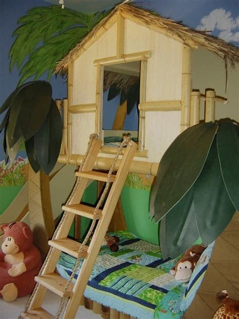 jungle themed bedrooms 15 ideas to design a jungle themed kids room kidsomania