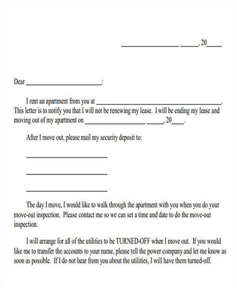 landlord letter templates sample