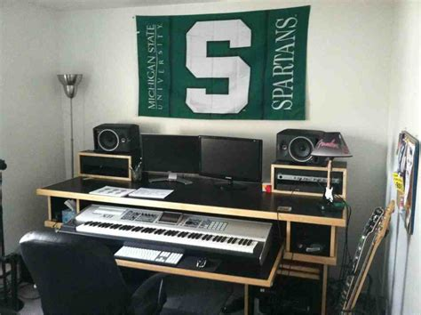 Small Recording Studio Desk Home Furniture Design Small Recording Studio Desk