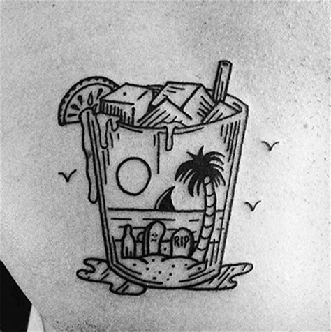 Mojito Day 10 Killer Cocktail Tattoos Custom Tattoo Design Mojito Day 10 Killer Cocktail Tattoos